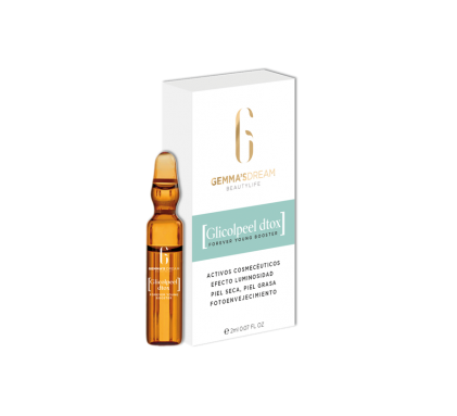 GLICOPEEL DTOX – (9 boosters monodosis de 2 ml)