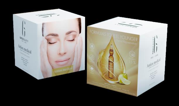 Antiox Medical fondo transparente nuevo packaging
